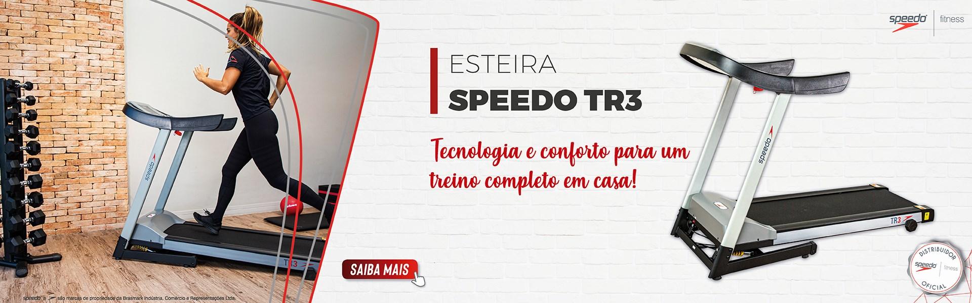 Esteira Speedo TR3 Residencial Ergométrica