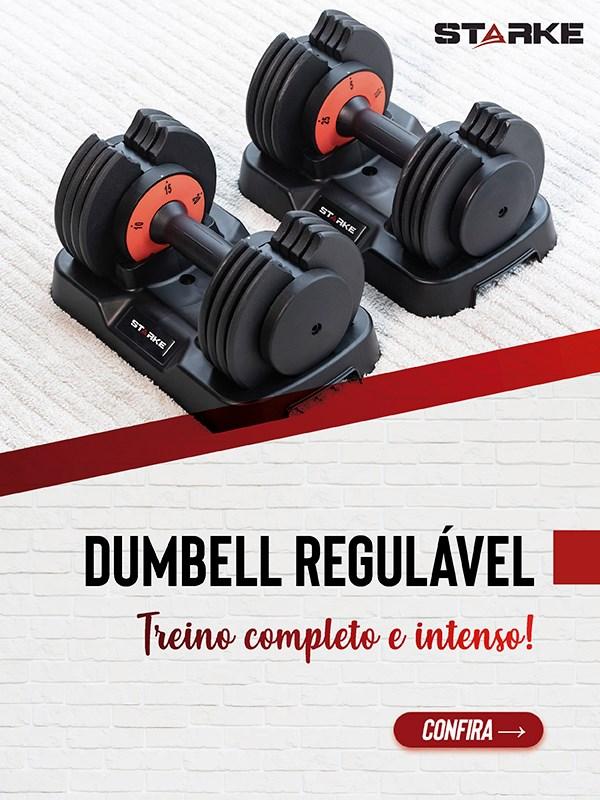 Banner Dumbbell Halter Regulável - Mobile