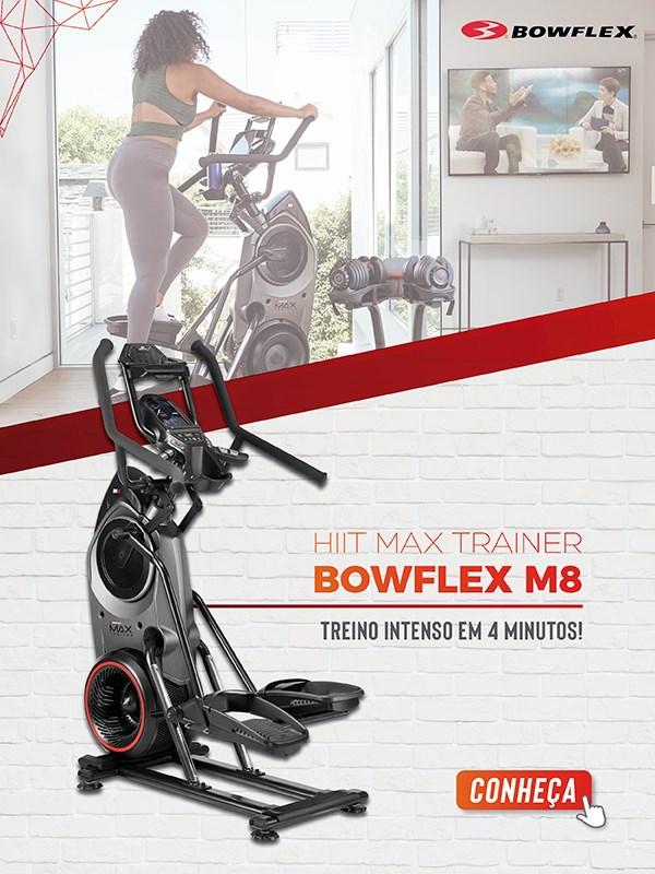 Banner Eliptico Max Trainer Bowflex M8 - Mobile