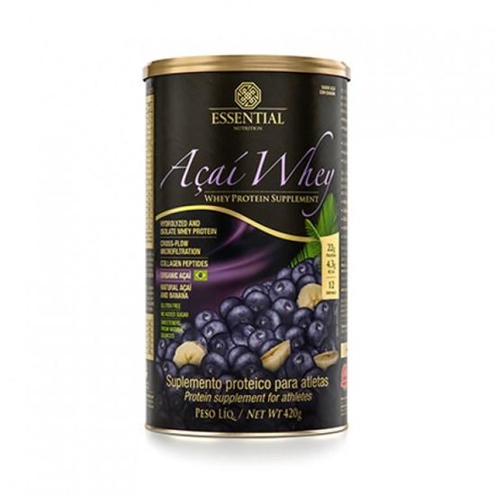 Açaí Whey Essential (Whey Protein Hidrolisado E Isolado Com Açaí Orgânico E Banana)