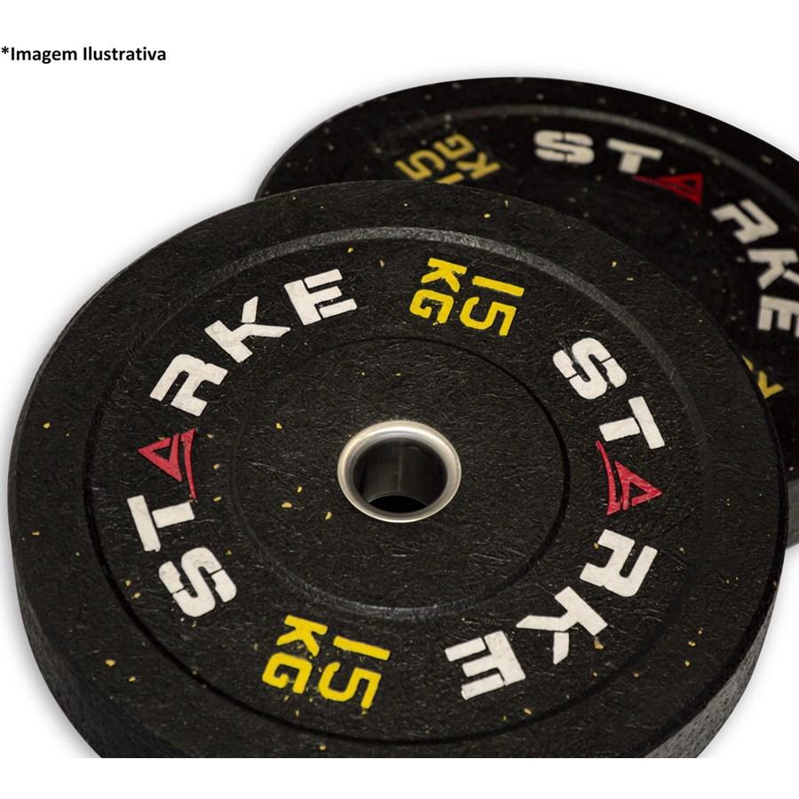 Anilha Olímpica Bumper STARKE 15kg - Crossfit