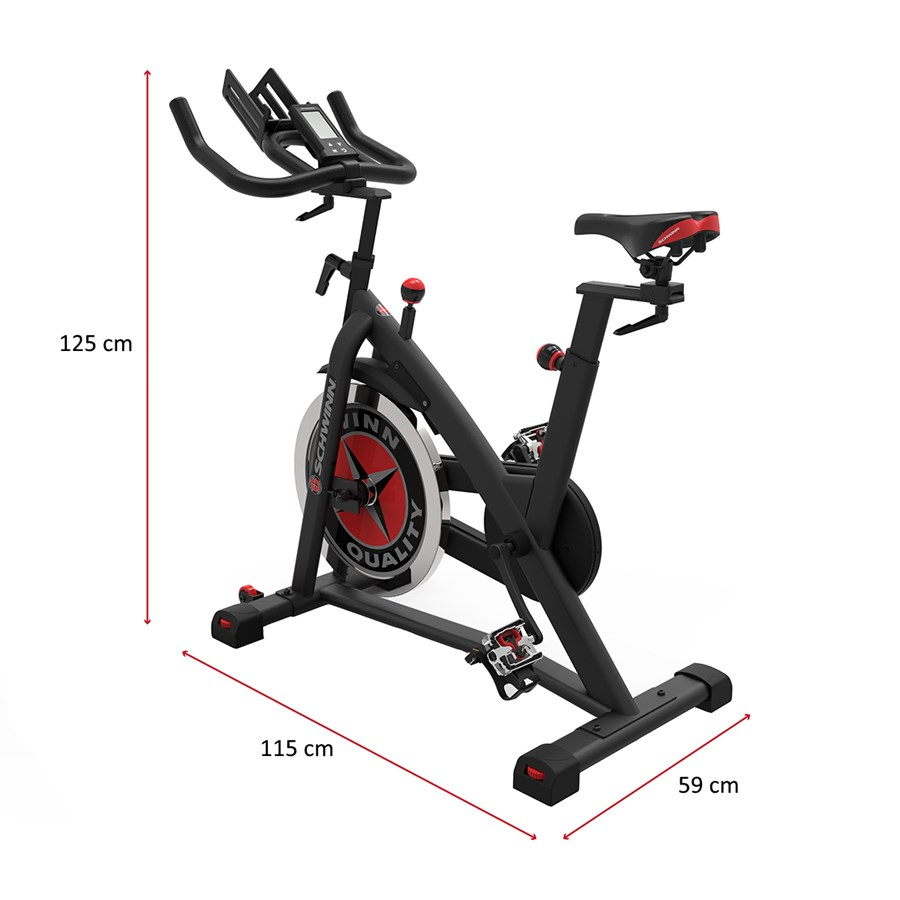 Bike Spinning Schwinn IC3 - Residencial