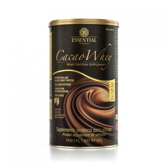 Cacao whey Essential 450G (Whey Protein Hidrolisado)