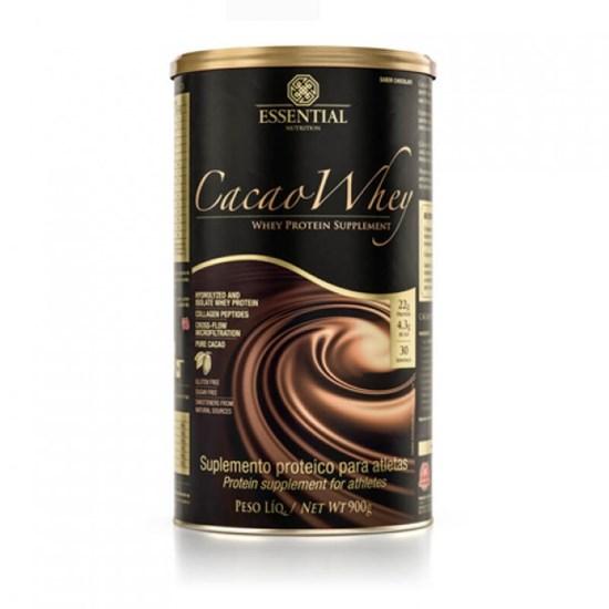 Cacaowhey900G Essential (Cacao Whey 900G - Whey Protein Hidrolisado)