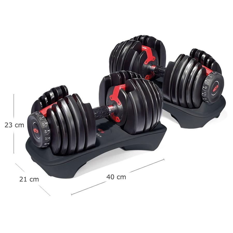 Dumbbell Regulável Bowflex SelectTech 552 - 2kg a 23,5 kg - Par