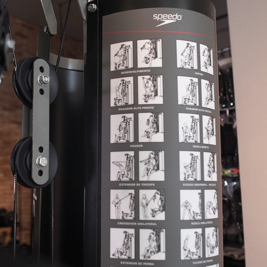 Estação De Musculação Speedo Multi 2