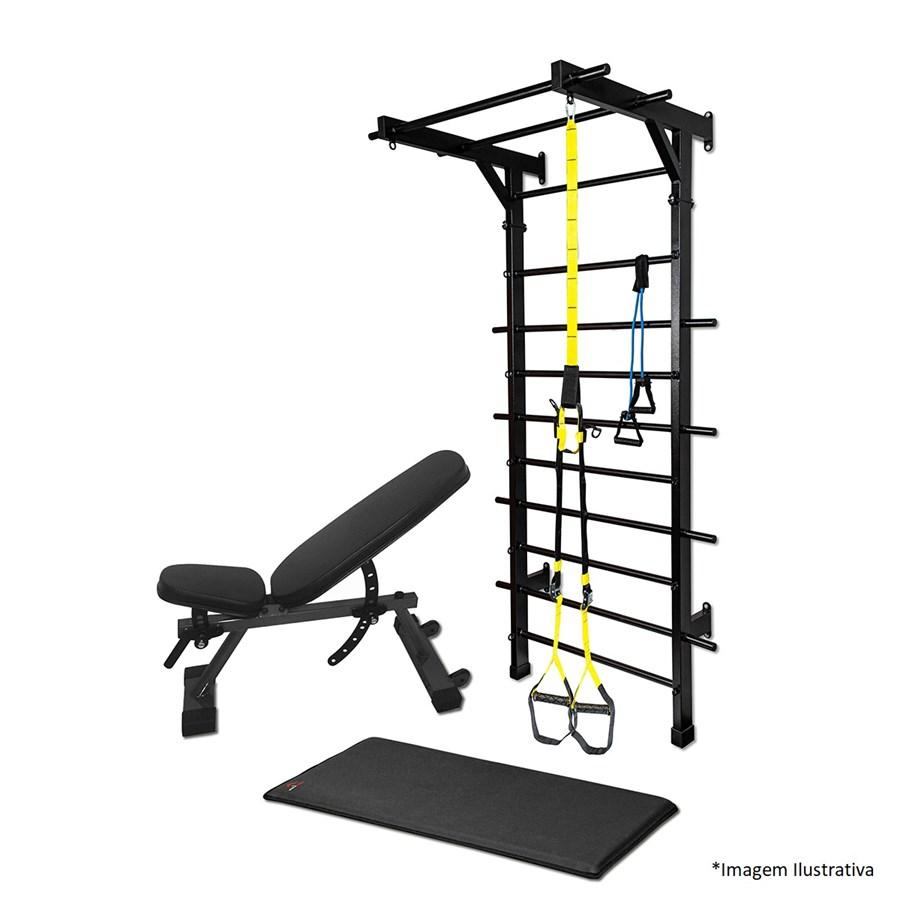 Kit 2 Treino Em Casa - Casa do Fitness