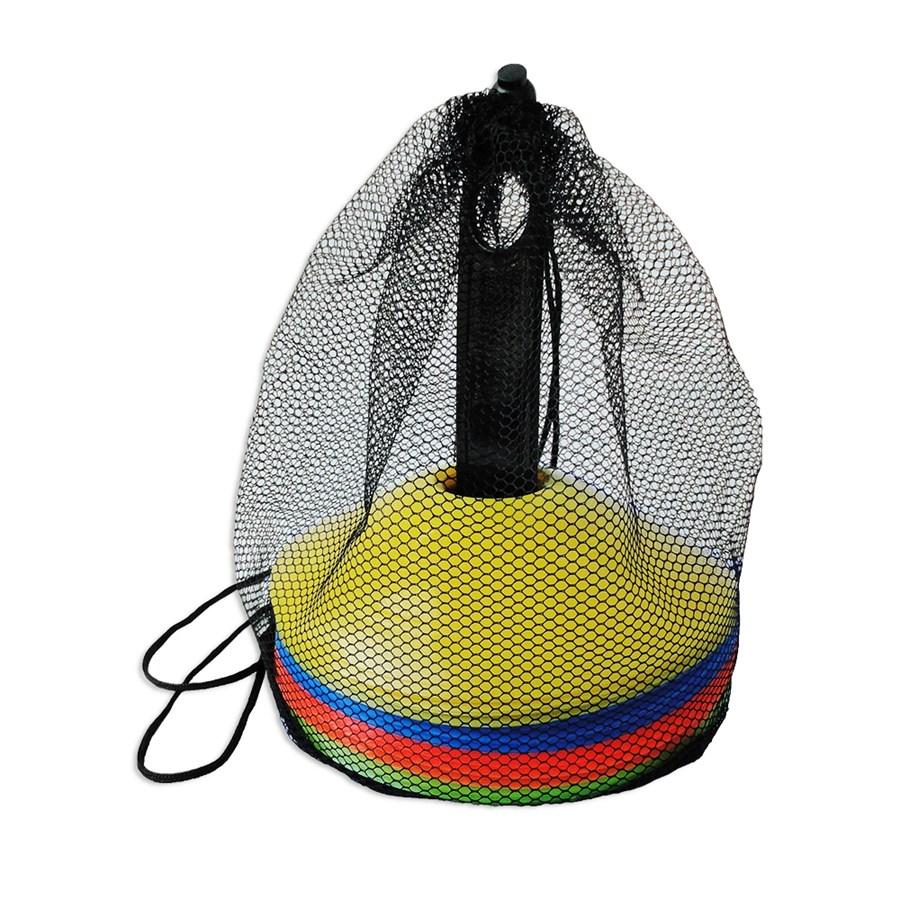 Kit 20 Chapéus Chinês Half Cone para Treinamento Funcional