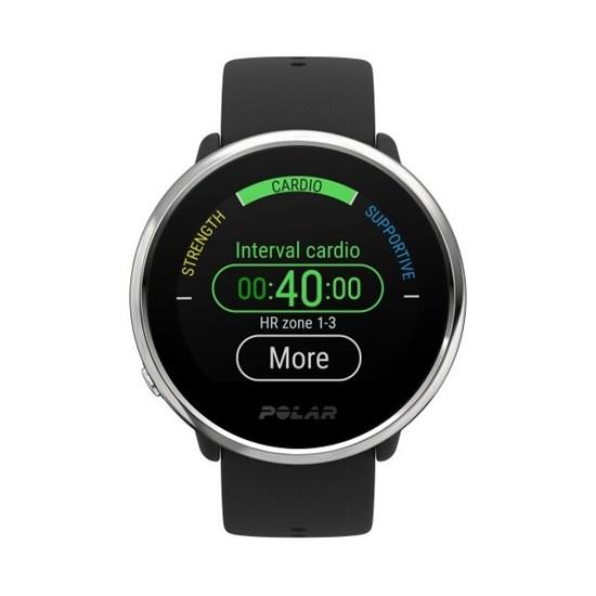 Polar Ignite Preto - Relógio Fitness com Monitor de Frequência Cardíaca