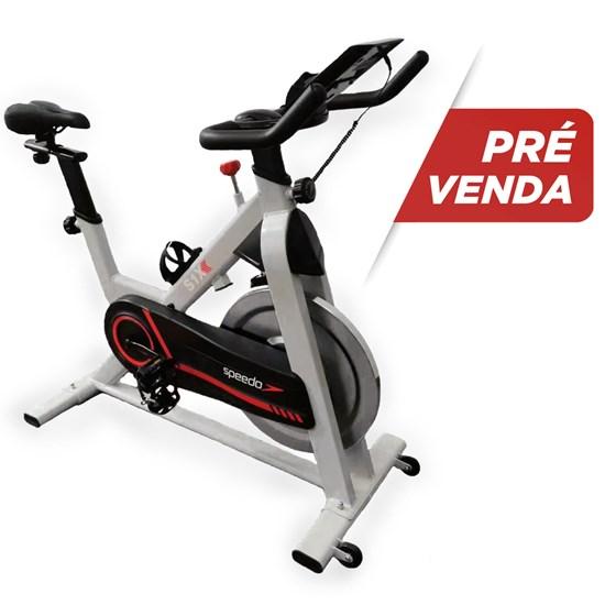Pré-Venda - Bicicleta Spinning Speedo S1X - Painel com Bluetooth - Lote de Março