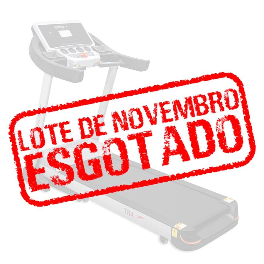 Pré-Venda - Esteira TR4 Speedo 110V/220V - Lote Novembro