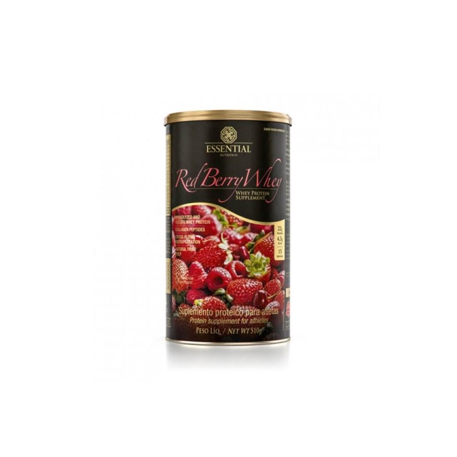 Red Berry Whey Essential (Whey Protein Hidrolisado E Isolado Com Frutas Vermelhas)