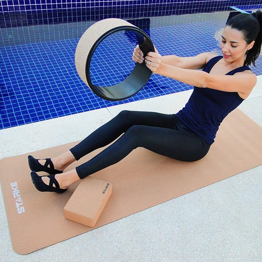 Roda de Yoga Cortiça Starke