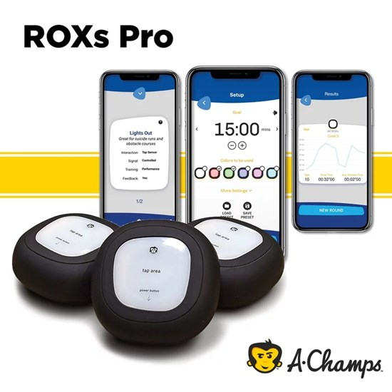 Roxs Pro - Kit com 3 Luzes RoX + Carregador